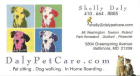 Daly Pet Care, pet sitting, dog walking, in home boarding